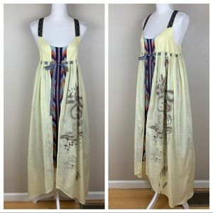 Kimchi Blue two layers maxi dress. Size XS.